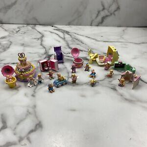 VTG Mimi and the Goo Goos Lot BlueBird Toys 1994 15 Mini Figures 8 Cases + Bonus
