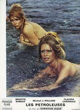 SEXY BRIGITTE BARDOT LES  PETROLEUSES  1971 VINTAGE LOBBY CARD #17