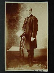 Portrait MR CHARLES M. ALEXANDER Moody Bible Inst. Evangelic Gospel c1905 RP PC