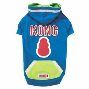 Kong Reflective Pullover Coat for Dogs Walking Safety Vest, Blue