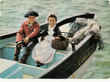 "SCENES ET TYPES DE BRETAGNE costume de ""penne sardin"" timbrée 1991"