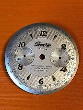 NOS dial  for vintage swiss chronograph PREMIER ,  dia 32mm for Valjoux 92