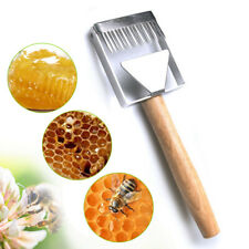 2019 Stainless Steel Bee Hive Uncapping Honey Fork Scraper Shovel Beekeeping Kit