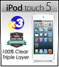 3 x Top Grade Ultra CLEAR Screen Protector Guard Film F NEW iPod Touch 5 5G 5th