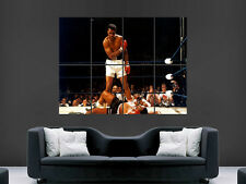 MUHAMMED ALI  BOXING ART GIANT WALL POSTER  PICTURE PRINT LARGE !!