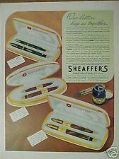 1942 Sheaffer's Pencil & Pen Office Desk Gift Print Ad