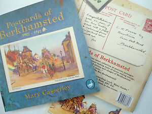 Postcards of Berkhamsted Hertfordshire Mary Casserley BNWT from author signed