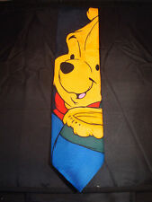 WINNIE the POOH  NOVELTY NECK TIE in LIVING COLORS by Milne & EH Shepard