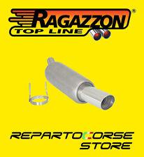 RAGAZZON TERMINALE SCARICO ROTONDO 90mm OPEL TIGRA 1.6 16V 9/94>8/04 18.0043.60