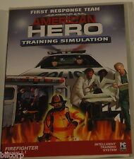 American Hero Firefighter Training Simulation PC game Firefighter version 1.1