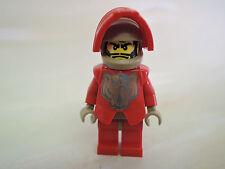 Lego personaje Castle santis cas267 rojo caballero 8801 8879 8877