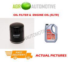 Filtro OLIO DI BENZINA + FS 5w40 MOTORE OLIO PER ALFA ROMEO 147 1.6 120 CV 2000-10