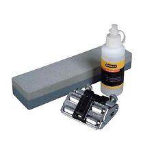 Stanley 3-Piece Sharpening Set w/ Honing guide, Oilstone & White Oil *Usa Brand