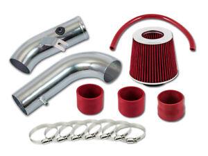 GSP Red Short Ram Air Intake Kit + Filter 99-05 Miata MX5 Roadster NB 1.8