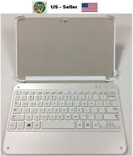 "Samsung ATIV Tab 3 Bluetooth Keyboard Case Tablet 10.1"" Slim Wireless Book Cover"