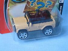 Matchbox Land Rover 90 SVX Beige Body 65mm Toy Model Car in BP