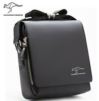Kangaroo Kingdom Brand Men Leather Messenger Shoulder Bags Business Handbag M261