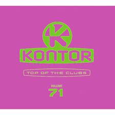 KONTOR TOP OF THE CLUBS 71 = Avicii/Antoine/Chainsmokers...=3CD= groovesDELUXE!!