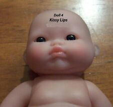 "Berenguer 5"" Doll Doll Kissy Lots to Love Blue/Grey EYES  Airbrushed & Detailed"
