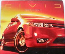 2007 Honda Civic Coupe New Vehicle Brochure ZO2704