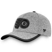Philadelphia Flyers Fanatics Branded Versalux Marled Tech Flex Hat - Gray