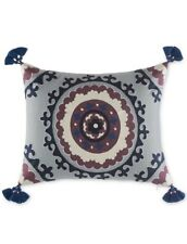 "Martha Stewart Whim Eccentric Lilac Decorative Pillow 16"" x 20"" New"