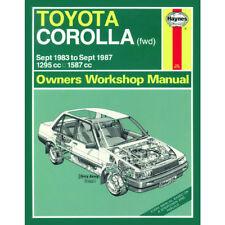 Toyota Corolla 1.3 1.6 Petrol 1983-87 (A to E Reg) Haynes Manual