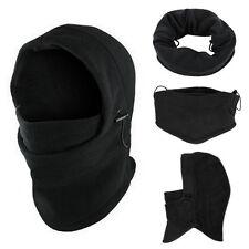Thermal Fleece Balaclava Hood Mask Police Swat Ski Bike Snow Sport Neck Warmer