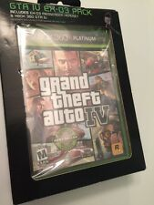 Grand Theft Auto IV with EX-03 Messenger Headset, XBOX 360, GTA IV Platinum NEW