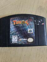 Turok 2: Seeds of Evil N64 Cleaned Tested Authentic OEM Nintendo 64 Cartridge
