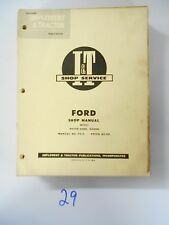 Ford Major Diesel EIADDN Tractor I&T FO-6 Shop Service Repair Manual