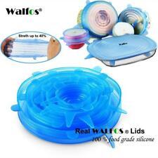 6Pcs Pot Lids silicon Stretch Food Wrap Flexible Bowl Cover Pan Kitchen Cookware