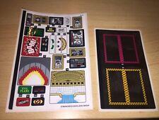 Lego - 70922-Batman Movie-Joker Manor sticker Sheet 1 & 2 * nuevo *