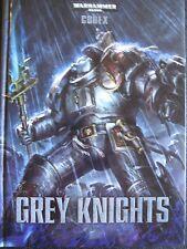 Warhammer 40,000 Codex Grey Knights 40K 7th Edition
