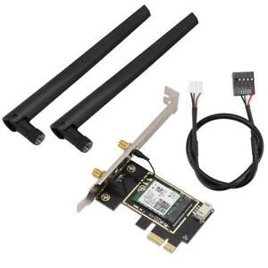 Wireless AX200 Dual Band PCI-E Netzwerkkarte mit Bluetooth 5.0 Modul 2974Mbps