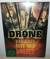 DRONE  - HAMMERED - LIVE AND BOOZED - DVD