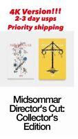 Midsommar Director's Cut BluRay 4K Collectors Edition A24 (Confirmed Order)
