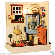 DIY Handcraft Miniature Project Kit Wooden Dolls House The Dawn Whispers Country
