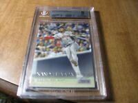 2015 Topps Stadium Club #187 Xander Bogaerts BCCG Mint 9 Boston Red Sox Card