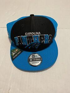 New Era Carolina Panthers 2019 9Fifty Home Sideline Hat SnapBack
