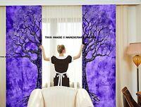 Baum des Lebens Tür Vorhang Baumwolle Indisch Dekor Fenster Ethnisch Wandteppich