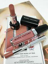 MARC JACOBS Sugar High Nude Lip Trio - Mini Lipstick, Gloss/Lacquer & Lip Pencil