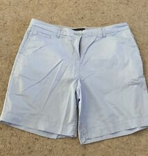 Womens Marks And Spencer Blue Shorts Size 14