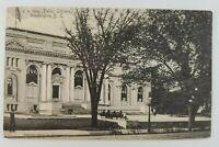 Postcard Washington DC Public Library 1905