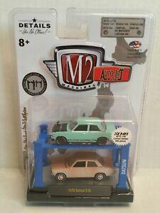 Rare M2 Machines Auto-Lift Japan 1970 Datsun 510 2018 SEMA Exclusive 1 Of 600