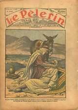 Palestine Bedouins Samaritain Evangile Donkey Samaritan Bible 1934 ILLUSTRATION