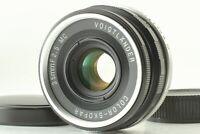 """Near Mint+++"" Voigtlander Color Skopar 35mm F/2.5 MC For Leica L39 Screw JAPAN"