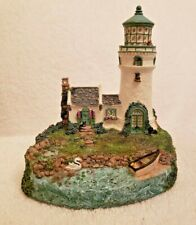 Rose Cottage Light Cheryl Spencer Collin Lighthouse Signed, Numbered 1998