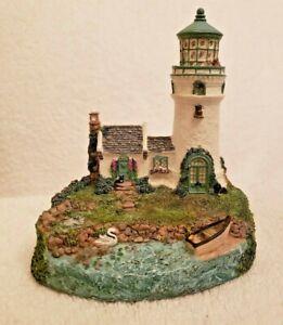 Rose Cottage Light Cheryl Spencer Collin Lighthouse Signed, Numbered 1998
