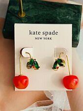 Kate Spade New York  Red cherry Earrings